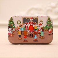 Navidad Puzzle de madera para niños Juguete Santa Claus Jigsaw Navidad Niños Early Educational DIY Jigsaw Kids Navidad Bebé Regalos CCA2465