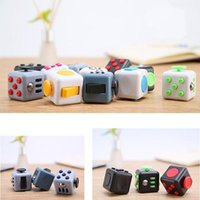 Decompression Dice непоседа Куб Игрушки Stress Relief Infinite Magic Cube Fun взрослые игрушки Фокус Внимание офиса Finger игры Подарки