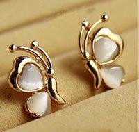 Ohrringe für Frauen Chic Schöne Opal Pin für Frauen-Weihnachtsgeschenk-Ohrstecker