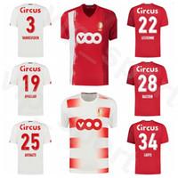 Standard Liege 2020 2021 Fútbol 22 Kits camisa Maxime Lestienne Jersey 28 Renaud Emond 28 Samuel Bastien 16 Arnaud Bodart Carcela Fútbol