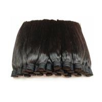 boya beyazlatabilirim satış 200g ile İşlenmemiş iyi Brezilya insan saç dökme / güzellik kuaför kütikül için paket hizalanmış saç doğal renk