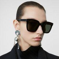 2021 New GM Sunglasses Classic Women Gentle Monster Square Frame Sun Glasses UV400 Vintage Lady Brand Designer Dreamer 17 T2 Ippic