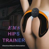 Akıllı EMS Kalça Eğitmeni Elektrik Kas Stimülasyon Kablosuz Kalçalar Karın ABS Stimulatör Spor Vücut Masaj