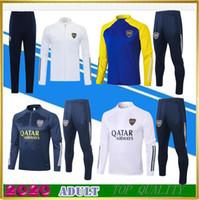 2021 Boca Juniors Men's Tracksuits di calcio Jersey 20/21 Casa Away Tevez Maradona Moura Abila Reynoso de Rossi JRS Giacca da calcio sportiva