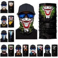 Хэллоуин Скелет маска Шарф Joker Оголовье Балаклавы Череп маскарадные маски для лыж Мотоцикл Велоспорт Рыбалка Спорт на открытом воздухе FY6098