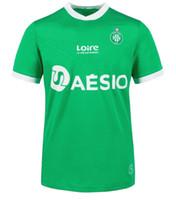 20 Maillot como Saints-étienne Home Soccer Jerseys 2020 Asse St Etienne Khazri Beric Boudebouz Nordin Hamouma Camisas de futebol