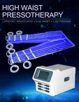 24 sacos de ar de pressão para pressoterapia Detox Sauna Característica Blanket Loss Far Infrared Body Wrap corpo emagrecimento Fat Celulite Redução da máquina