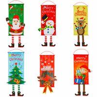الولايات المتحدة ميلاد سعيد سهم زينة عيد الميلاد نافذة الباب معلق العلم مول فندق حزب معلق الحلي ستريت القماش عيد الميلاد الديكور المنزلي