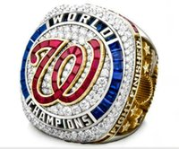 2020 wholesale Washington, 2019 -2020 Nationals World Series Champions Baseball Team Championship ring TideHoliday gifts for friends
