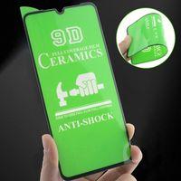 아이폰 12 용 세라믹 화면 보호기 12 Pro Max Samsung Galaxy A30 A40 A50 A81 A91 A12 A01 코어 A01S A02S A11 용
