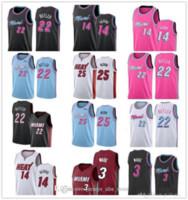 Мужчины Баскетбол Дуэйн 3 Уэйд Мужская майки для колледжа Джимми 22 Батлер 14 Тайлер Herro Goran Kendrick 25 Nunn 7 DRAGIC 2019 2020 New Jerseys 07