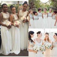 Africano tradicional de las lentejuelas remató de dama de honor vestidos de Long Beach árabe vestidos de baile vestido de novia de visitantes vestidos de noche C82