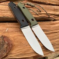 Yüksek kaliteli FOX (OEM) sağkalım düz bıçak av D2 çelik bıçak araçları için uygundur