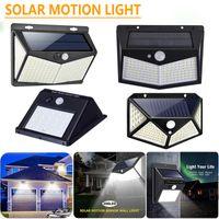 LED Güneş Işık PIR Hareket Sensörü Açık Su Geçirmez Bahçe Lambaları Üç Modu Dış Duvar Işıkları Süper Brigh