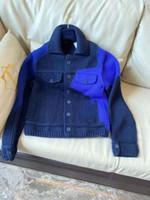 20ss New Italy Button Fashion Chaqueta casual Chaqueta de lana Suéter de moda Mens de algodón Mujeres Pareja Suéter ZDLL0729.