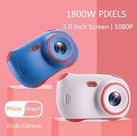 Симпатичные Детская 2inch дисплея камеры Дети камера Аккумулятор Цифровые Для детей Подарочные видеокамеры Мини экрана Детские игрушки