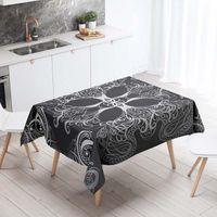 Rettangolare Tovaglie Decorative copertura tavolo per la cucina 3D Printing Tarocchi pranzo Tovaglia