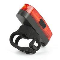 USB المسؤول دراجات الضوء الخلفي ضوء بقيادة الدراجة الجبلية ضوء فلاش الذيل الخلفي للماء دراجات أضواء على جبال دراجة Seatpost