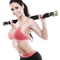 Горизонтальные батончики Двери стали Регулируемая подготовка для домашнего спортивного бара Тренировка подтягивания руки Sit Fitness Push Equipm
