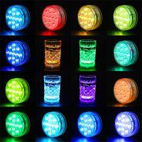 Hot Sale LED Big Plum Blossom Afstandsbediening Duiklampje Knop Afstandsbediening Timing 13 Lichtkaars Aquarium Light