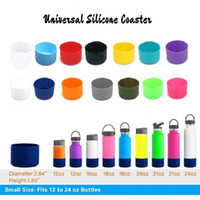 14 Colors Universal Silicone Coasters for 12 16 18 21 24oz F...