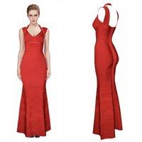 2020 Tasarımcı HL V Yaka Mermaid Gelinlik Modelleri Seksi Dantel Aplike Boncuklu Akşam elbise Zarif Uzun Örgün Parti Nedime Elbiseler H730