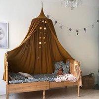 Mosquitero Kamimi Baby Baby Canopy Colgando Niños Ropa de cama Cama Cama Casa de Algodón Cortina Red