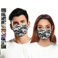 Camouflage 3D digital printing sports outdoor riding mask Mo...