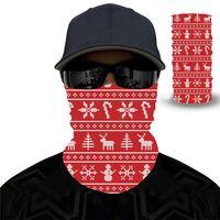 Unisex Dorośli Boże Narodzenie Maska Scarf Celebrity Headband Magiczne Maski do Motocykli Narciarskich Kolarstwo Wędkowanie Sportów Zewnętrznych FY6094