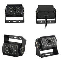 Camión de marcha atrás Imagen 14 Luces adecuados para autobuses y camiones que invierte la cámara de visión trasera del coche a prueba de agua Black-