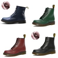 Hot Sale-New Automne Femmes Martin Bottes Femme Place Glissement Maillot Femme S Chaussures Toe Casual femme Pointu Mode Chaussures Femme # 987
