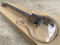 chitarra elettrica trasparente Ampeg ADA6 Dan Armstrong lucite della chitarra elettrica di cristallo acrilico plexiglass