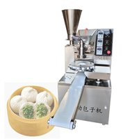 LEWIAO Ménage commercial 220V / 110V automatique en acier inoxydable Stuffed Bun machine étuvé chinois Baozi Maker Ancien