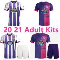 2020 2021 Real Valladolid Tailândia Futebol Jerseys 20 21 Longe Jaime Mata Michel Borja Homens Luismi Jaime Football Shirts Adultos Kits