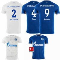 2020 2021 Schalke 04 Futbol Formalar KUTUCU HARIT RAMAN MC Kennie SERDAR 20 21 ev uzakta futbol forması