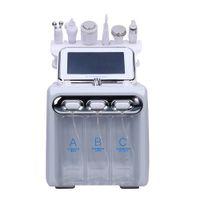 Venda quente 6 em 1 hydro casca microdermoabrasão hydra facial hydrafacial limpeza profunda RF rosto elevador de pele apertando spa beleza casa casa