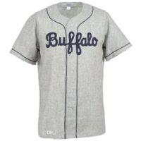Buffalo Bisons 1959 Yol Jersey 100% Dikişli Nakış Vintage Beyzbol Formaları Özel Herhangi Bir Adı Herhangi Bir Numara Ücretsiz Kargo 04