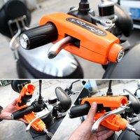 سرقة حماية دراجة نارية المقود قفل الفرامل خنق قبضة الأمن مكافحة الملحقات دراجة نارية مقبض السلامة