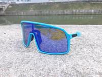 Moda Bicicletta Occhiali vetri di riciclaggio di sport esterno Occhiali da sole occhiali da sole polarizzati bici Eyewear con il caso di marca