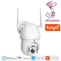 1080P تويا السيارات تتبع واي فاي كاميرا IP واي فاي الأمن الرئيسية PTZ سرعة قبة CCTV IR ONVIF في الهواء الطلق مع صفحة Google الرئيسية OrAlexa