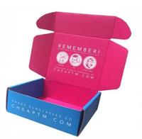 Custom Design Cartone profumo trucco Abbonamento Box cura personale Bellezza Make Up Packaging Spedizione Deluxe Eco Piccolo cartone postale