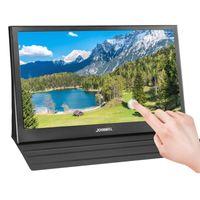 Monitores de 15.6 pulgadas HD Portátil Pantalla táctil Monitor PC 1080P IPS LCD LED Pantalla de juego para Raspberry PI PS4 X360