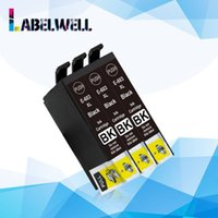 Labelwell BK WF-2810 WF-2830 WF-2850 XP-2100 XP 2105 XP-3100 XP-3105 yazıcı için yerine kartuş 603 XL 603XL Avrupa mürekkep