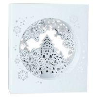 Tebrik Kartları Noel 3d Up Kutsal Kar Tanesi El Yapımı Özel Hediyeler Hatıra Eşyası Kartpostallar