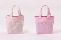 2020 fashion luxury women designer DHL free 100pcs lot Newest White DIY women Cotton Canvas Open lunch Handbag storage bag shoe case Outdoor