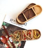 أطباق عالية الجودة مستطيلة خشبية المنصات المنزلية الإفطار وجبات خفيفة طوبا أكاسيا Teaboard خشبية لوحة السوشي مجلس السوشي