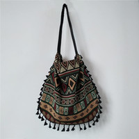 New Vintage Bohemian Fringe Shoulder Bag Women Tassel Boho H...