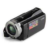 """الكاميرات الرقمية 2.7 """"TFT LCD 16MP كاميرا HD 720 وعاء PO فيديو كاميرا فيديو 16X التكبير المضادة للهزة DV LED ملء الضوء غير اللمس"""