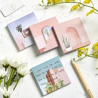 16 Designs 80pcs Sky Cloud Flowers Memo Pad Sticky Notes Notepad Cute Diary Planner Stickers School Supplies Kawaii Stationary
