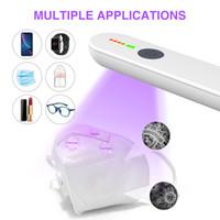 sterilizzazione portatile Disinfezione Lampada e strumento di disinfezione, ricarica palmare UV Sanitizer Wand, applicazioni multiple